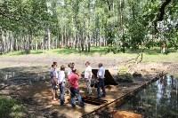Жерздев инспектирует благоустройство Взрослого и Детского парка, Фото: 2