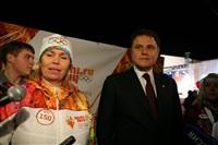 Этафета олимпийского огня. Площадь Ленина, Фото: 17