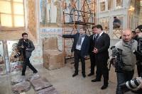 Груздев инспектирует работы в Тульском кремле. 8.09.2015, Фото: 13