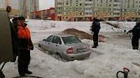 """В Туле вмерзла в лед """"Лада"""", Фото: 8"""