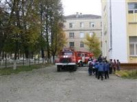 Короткое замыкание в школе №18. 9 октября, Фото: 1