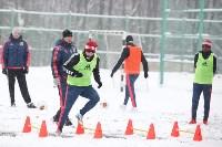 «Арсенал» готовится на снежном поле к игре против «Тосно», Фото: 11