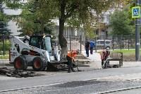 Ремонт улицы Оборонной в Туле, Фото: 3