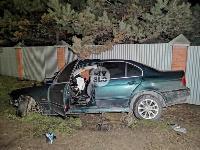На выезде из Тулы BMW влетел в фуру: один человек погиб, Фото: 5