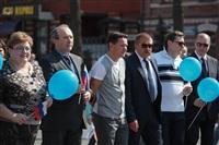 Тульская Федерация профсоюзов провела митинг и первомайское шествие. 1.05.2014, Фото: 7