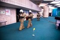 Тульские пожарные провели учения в драмтеатре, Фото: 8