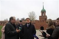 16 октября Владимир Груздев проконтролировал ход работ в Тульском кремле., Фото: 8