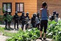 Плеханово, итоги дня: В таборе принудительно снесли первые 10 домов, Фото: 15