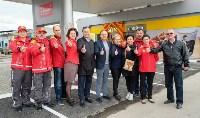 Открытие первой автозаправочной станции «Шелл» в Новомосковске, Фото: 12