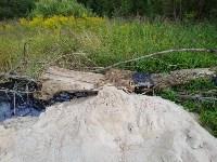 """""""Озеро"""" в Комарках засыпают доломитовой мукой, Фото: 5"""