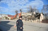 Снос аварийного дома на улице Октябрьской, Фото: 43