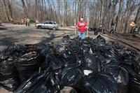 """""""Слобода"""" и Myslo очистили от мусора Платоновский парк!, Фото: 23"""