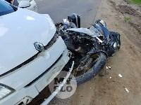 В Туле сбили мотоциклиста, Фото: 4