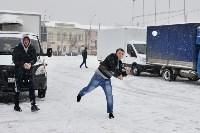 Автофлешмоб на площади Ленина в честь Дня памяти жертв ДТП, Фото: 5