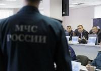 Алексей Дюмин посетил Главное управление МЧС России по Тульской области , Фото: 5