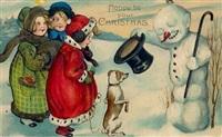 Старинные рождественские открытки, Фото: 42