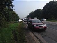ДТП на автодороге «Крым», 10 сентября 2013 г., Фото: 2
