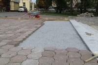 В Туле продолжается реконструкция Могилевского сквера, Фото: 5