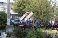 «Экопатруль» благоустроил в Киреевске двор, Фото: 2