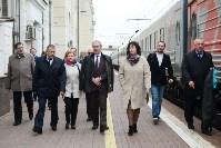 Встреча Валерия Гергиева на Московском вокзале в Туле, Фото: 25
