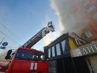 Пожар в пиццерии на Красноармейском, Фото: 18