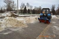 Уборка снега в Туле. 30 января 2016, Фото: 4
