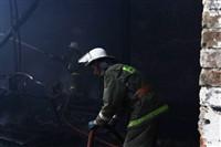 Пожар на хлебоприемном предприятии в Плавске., Фото: 16