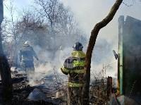 На Косой Горе в Туле пожар уничтожил дачу, Фото: 5