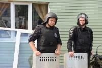 В Плеханово начали сносить дома в цыганском таборе, Фото: 12