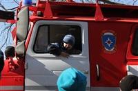 В Туле спасатели провели акцию «Дети без опасности», Фото: 42