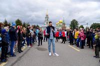 Толпа туляков взяла в кольцо прилетевшего на вертолете Леонида Якубовича, чтобы получить мороженное, Фото: 9