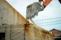 В Плеханово убирают незаконные строения, Фото: 65