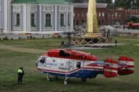 Установка шпиля на колокольню Тульского кремля, Фото: 29
