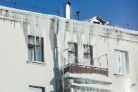 Сосульки на крышах Тулы, 21.01.2016, Фото: 2