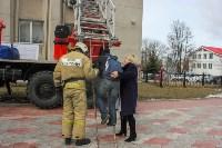 Тульские пожарные ликвидировали условное возгорание в здании суда, Фото: 8