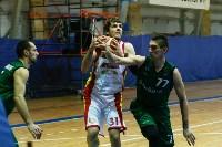 Тульские баскетболисты «Арсенала» обыграли черкесский «Эльбрус», Фото: 81