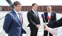 Владимир Груздев проинспектировал строительство мемориала «Защитникам неба Отечества». 8 июля 2015, Фото: 4