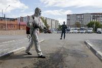 Тульские спасатели продезинфицировали автовокзал «Восточный», Фото: 30