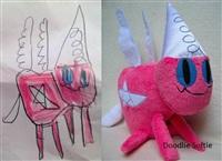 Игрушки, сшитые по рисункам детей, Фото: 9