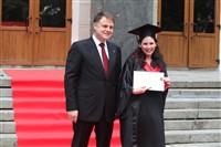 Владимир Груздев поздравил выпускников магистратуры ТулГУ, Фото: 34