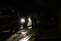 Пожар в здании бывшего кинотеатра «Искра». 10 марта 2014, Фото: 12