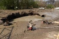 Провал грунта на Замочной и Осташева, Фото: 2