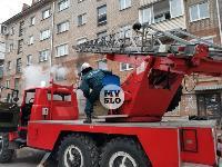 На улице Металлургов в Туле загорелась квартира , Фото: 4