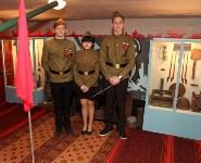 Учащиеся Волхонщинской средней школы показали Алексею Дюмину школьный музей боевой славы, Фото: 10