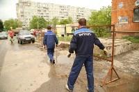 Коммунальная авария на ул. Лейтейзена, Фото: 4