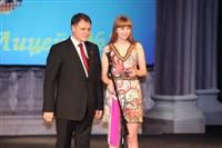 Владимир Груздев поздравил тульских выпускников-медалистов, Фото: 53