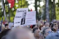 Митинг против пенсионной реформы в Баташевском саду, Фото: 14
