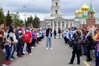 Толпа туляков взяла в кольцо прилетевшего на вертолете Леонида Якубовича, чтобы получить мороженное, Фото: 13
