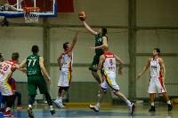 Тульские баскетболисты «Арсенала» обыграли черкесский «Эльбрус», Фото: 20
