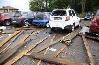 В Туле сорвало крышу делового центра, Фото: 9